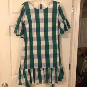 Nordstrom 1901 Brand Gingham Dress - Size Medium